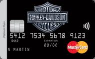Harley-Davidson® MasterCard® credit card