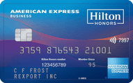 Hilton Honors Business card from American Express review