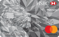 HSBC Platinum MasterCard credit card Application
