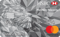 HSBC Platinum MasterCard with Rewards credit card Application