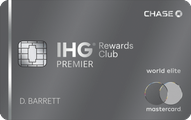 IHG Rewards Club Premier card review