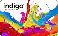 Indigo Platinum MasterCard Application