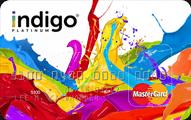 Indigo Platinum MasterCard Application