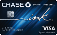 Chase Ink Business Preferred Credit card review
