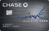 Ink Cash Business Credit Card Application