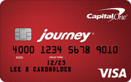 Journey Student Rewards from Capital One Application