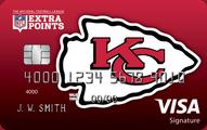 Kansas City Chiefs Extra Points Credit Card
