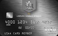 USAA Limitless Cashback Rewards Visa Signature Credit Card Application