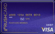 Midnight Prepaid Visa RushCard Application