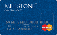 Milestone Gold MasterCard Application