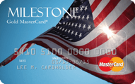 Milestone Unsecured MasterCard Application