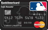 MLB™ Cash Rewards Mastercard® from Bank of America