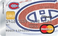 Montreal Canadiens® MBNA Rewards MasterCard® Credit Card