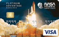 NASA Federal Visa® Platinum Advantage Rewards