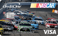 NASCAR Credit Card from Credit One Bank Application