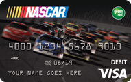 NASCAR Reloadable Prepaid Visa Card Application