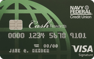 Navy Federal Credit Union cashRewards Application