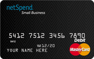 Netspend Small Business Prepaid MasterCard Application
