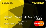 Western Union NetSpend Prepaid MasterCard Application
