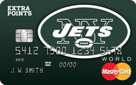 NY Jets Extra Points Credit Card