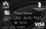Paralyzed Veterans of America USAA Rewards Visa Signature Card Application