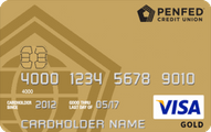 PenFed Gold Visa Card Application