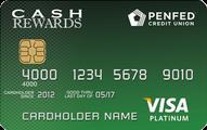 PenFed Platinum Cash Rewards Visa Card Application