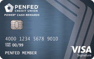 PenFed Power Cash Rewards Visa Signature Card Application