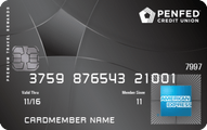 PenFed Premium Travel Rewards American Express Card Application