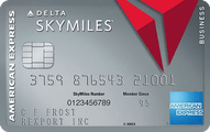 Platinum Delta Skymiles Business Credit Card from American Express Application
