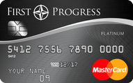 First Progress Platinum Secured MasterCard� Credit Card