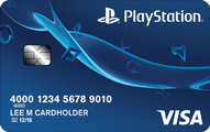 Playstation Card from Capital One Application