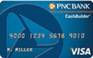 PNC CashBuilder Visa card review