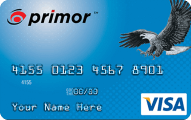 primor Secured Visa Classic Card Application
