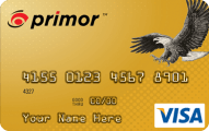 primor Secured Visa Gold Card Application