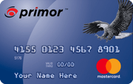 primor Secured MasterCard Classic Card Application