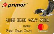 primor Secured MasterCard Gold Card Application