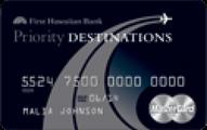 Priority Destinations® World Elite MasterCard®