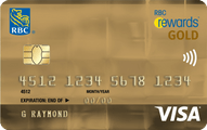 RBC Rewards® Visa‡  Gold