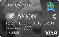RBC Visa Infinite‡ Avion®
