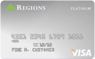 Regions Visa Platinum credit card review