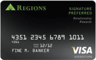 Regions Bank Visa Signature Preferred Application