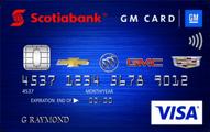 Scotiabank® GM®  VISA® Credit Card