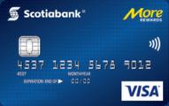 Scotiabank® More Rewards® * VISA* card