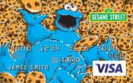 Sesame Street CARD.com Visa Account Prepaid Card Application