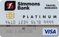 Simmons Bank Visa Platinum Rewards Application