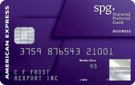 Starwood Preferred Guest Business Credit Card Application