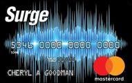Surge mastercard credit card 033117