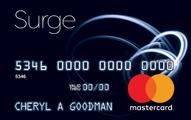 Surge MasterCard Credit Card Application