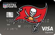 Tampa Bay Bucaneers Extra Points Credit Card